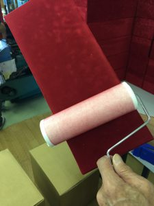 貼箱 スエード 製造 工程