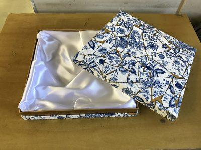 貼箱 オリジナル 壁紙 高級感 人絹